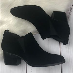 Steve Madden RUDY Leather Suede Ankle Boots